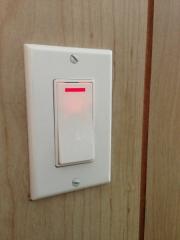 Patio Light with Indicator