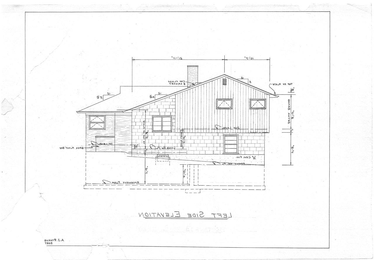Side split level house plans house design plans Side split house plans