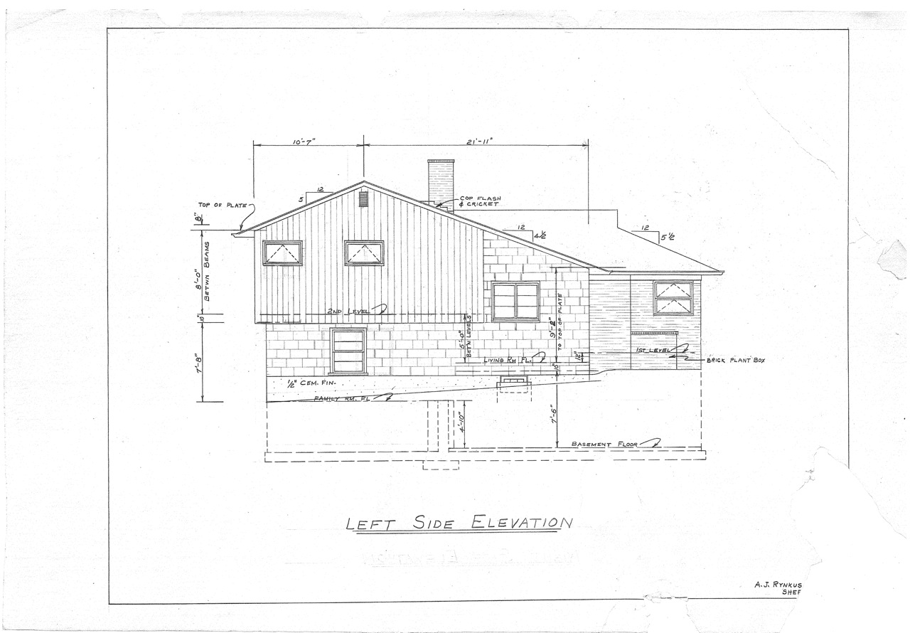 Side split level house plans Side split house plans