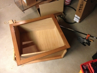 Cabinets - In Progress