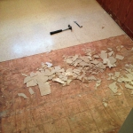 Original Tile Removal