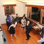 The living room dance party breaks out