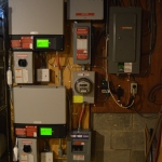 Inverters in Basement