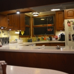 Finished Lighting - From Banquette
